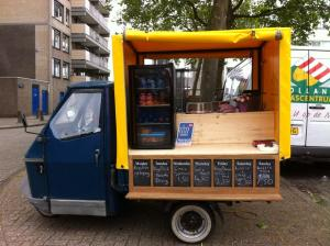 De tuktuk van Kingsdish