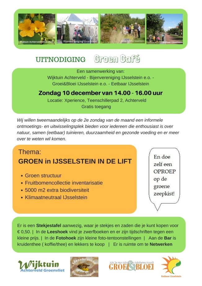 Groen Café 10dec17