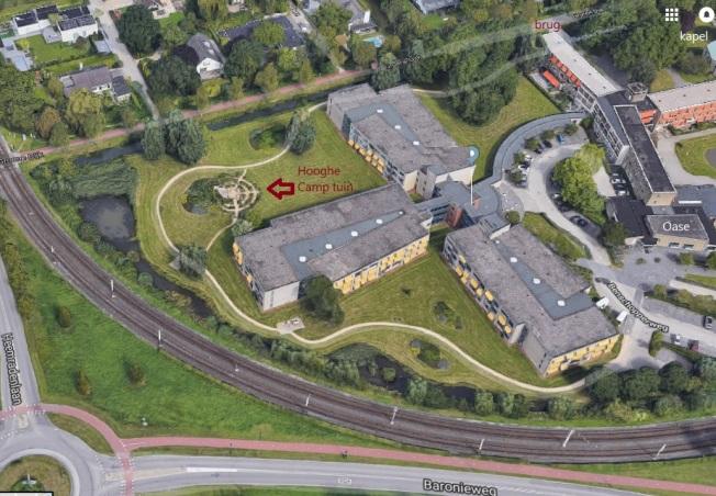ligging DHC - google maps
