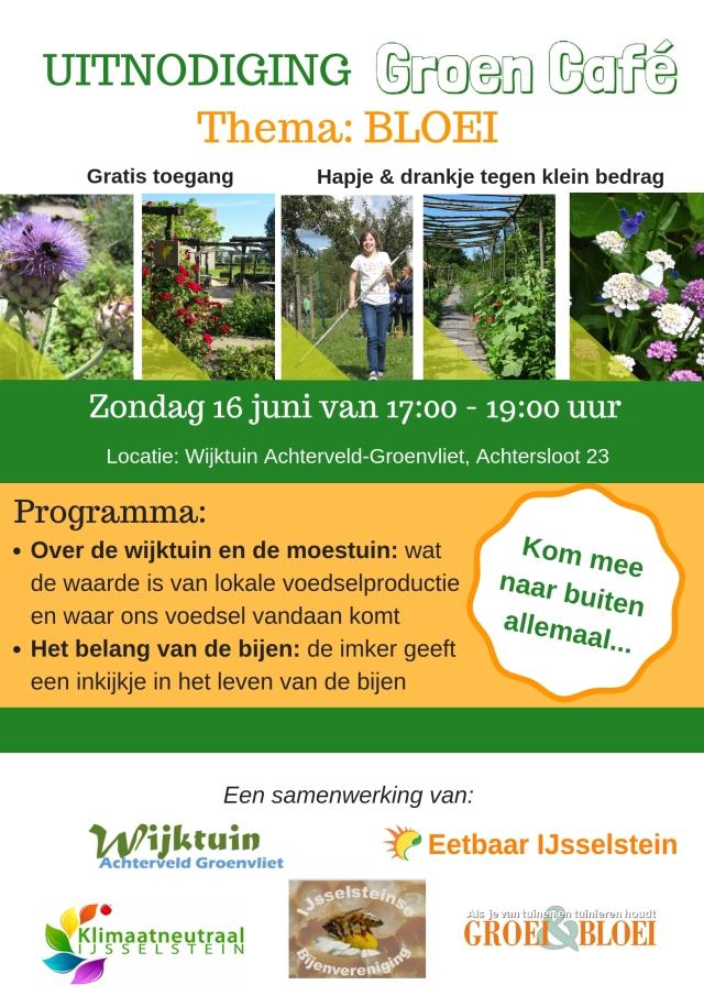 Uitnodiging Groen Café - 16jun19