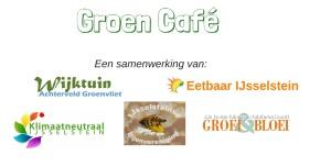 Logo gezamenlijk groen cafe